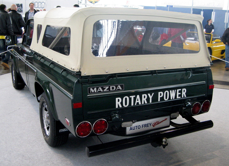 Rotary Engine - Mazda REPU Tailgate