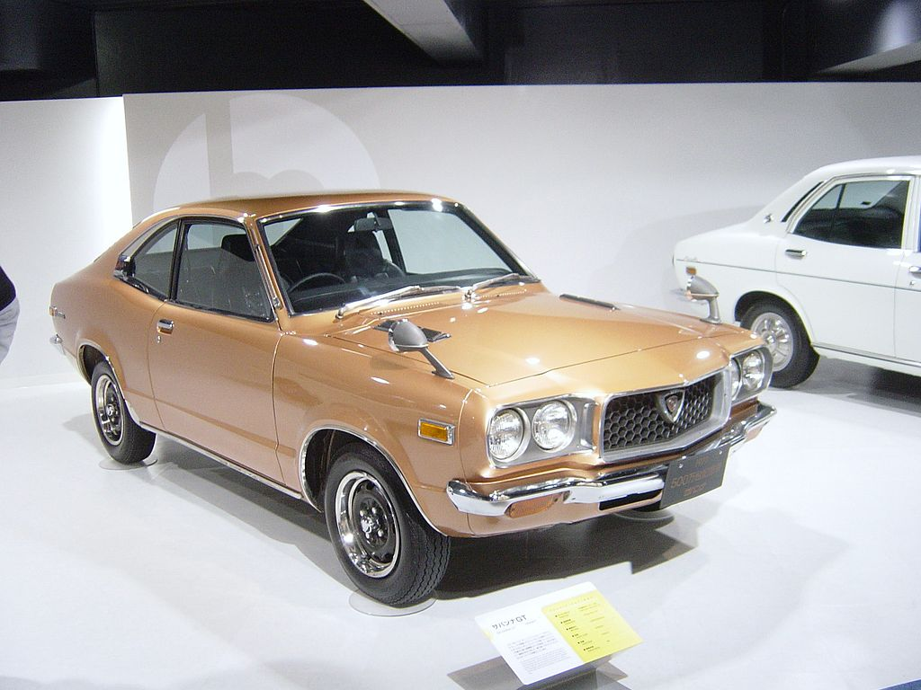 Rotary Engine - Mazda RX-3