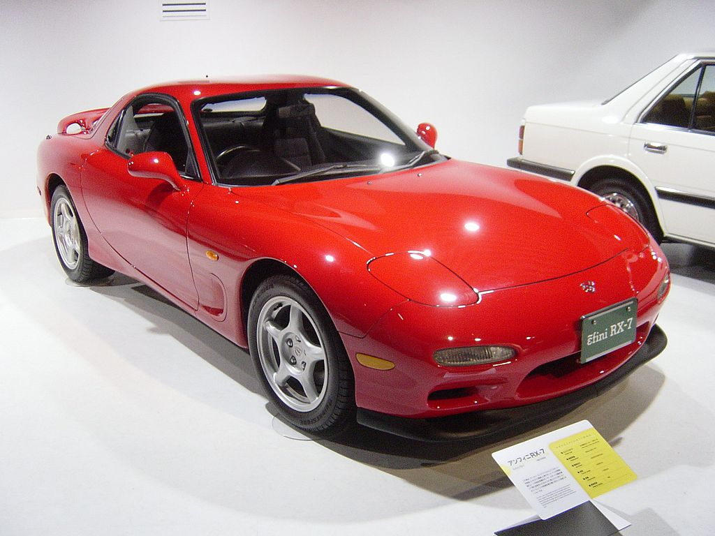 Rotary Engine - Mazda RX7 Series III