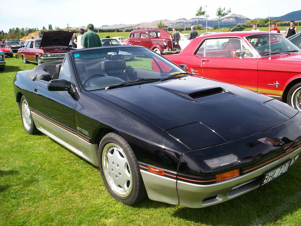 Rotary Engine Mazda Rx7 Series Ii