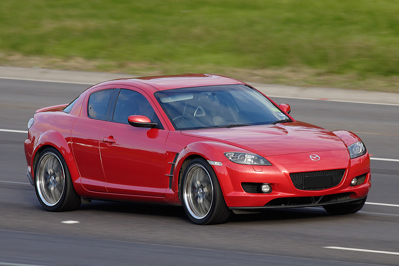 Rotary Engine - Mazda RX8