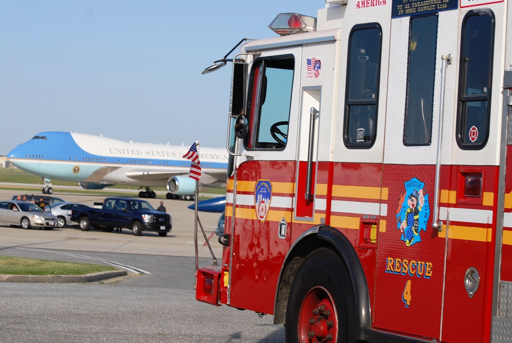 Sept 11 Rescue 4 Air Force One