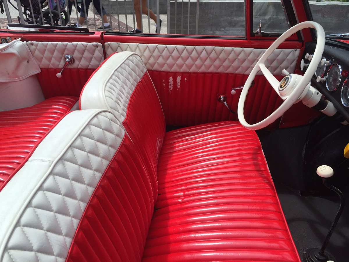amphicar seating