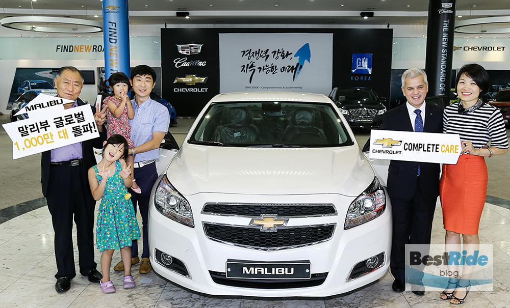 Korea, one of Chevrolet Malibu's best-selling markets globally,