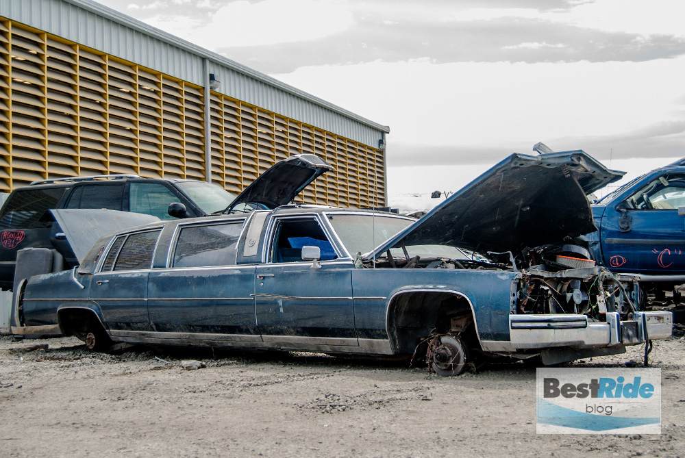Junkyard Therapy 1987 Cadillac Fleetwood Limousine The Ghost Of