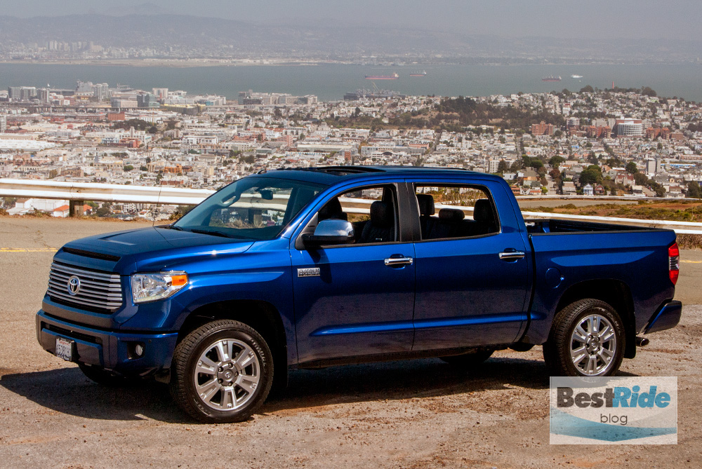 2015 toyota tundra crewmax platinum edition in black review and.