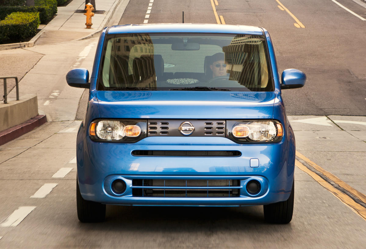 2012 Nissan cube press photo 101