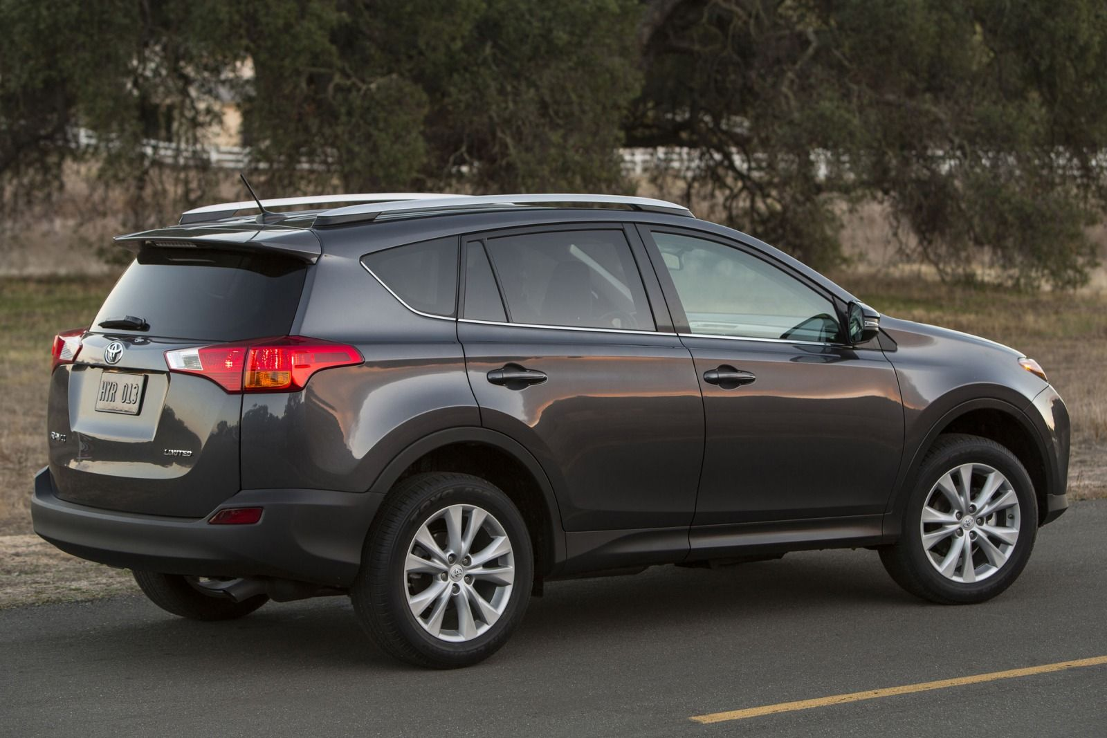 2015 Toyota RAV4 rear side