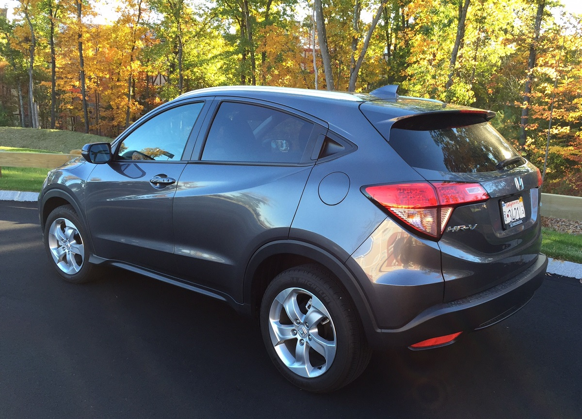 Review 2016 Honda Hr V Is The Smaller Just Right Crossover Bestride 2012 Cr Trailer Wiring Harness Rear
