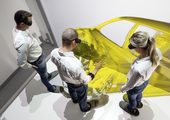 Audi Virtual Reality Assembly Press Photo