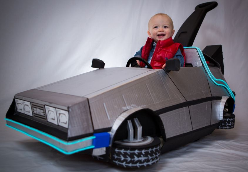 DeLorean Halloween