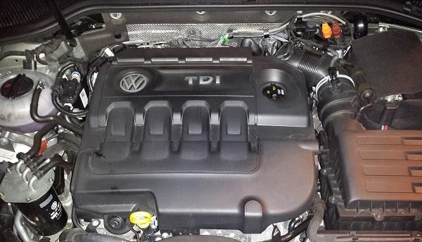Golf TDI engine