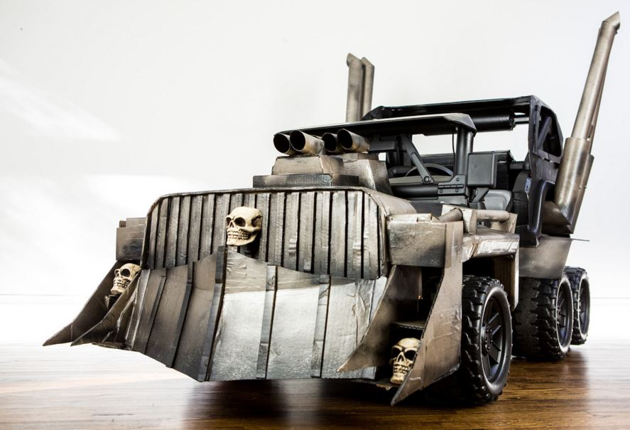 Mad Max Power Wheels Front