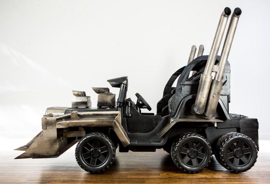 Mad Max Power Wheels Profile