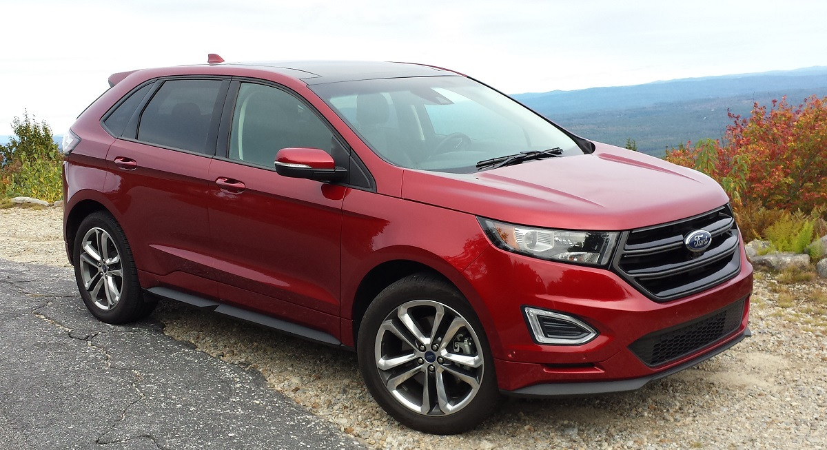 review 2015 ford edge sport awd a rare crossover worthy of the sport name bestride. Black Bedroom Furniture Sets. Home Design Ideas