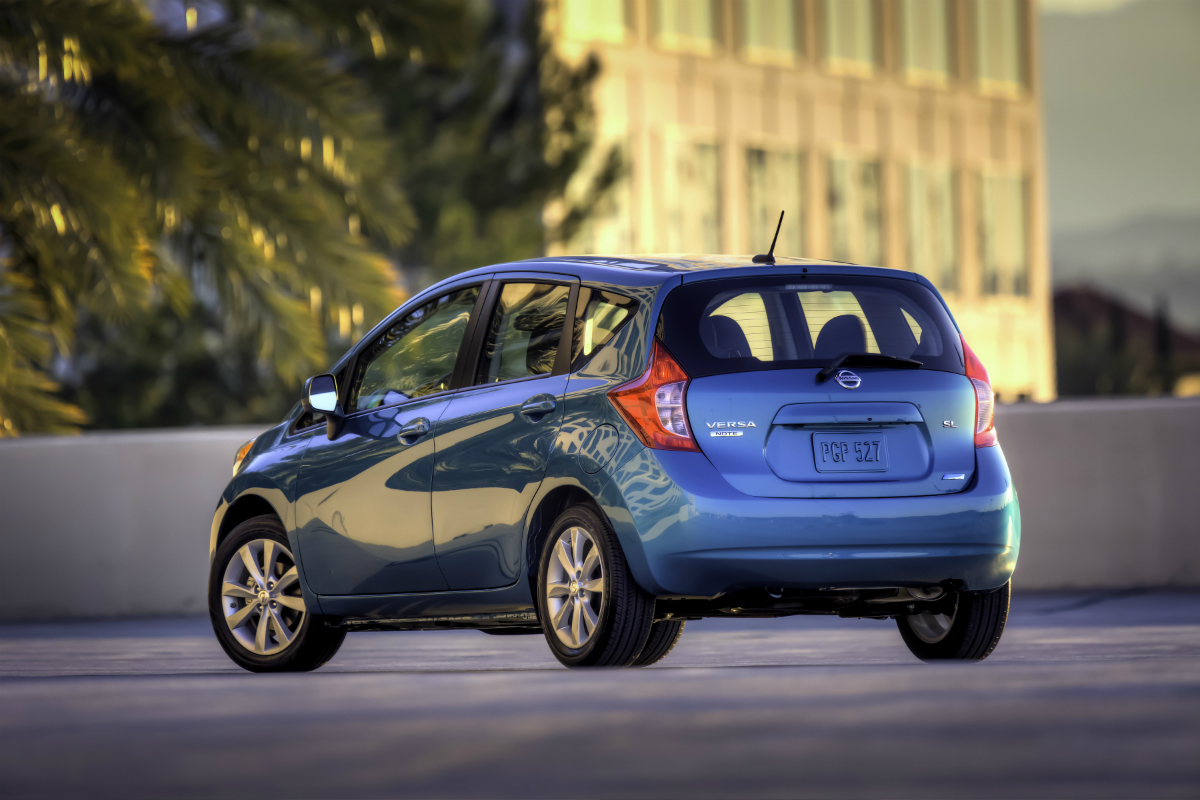 2014 Nissan Versa Note Press Photo 43