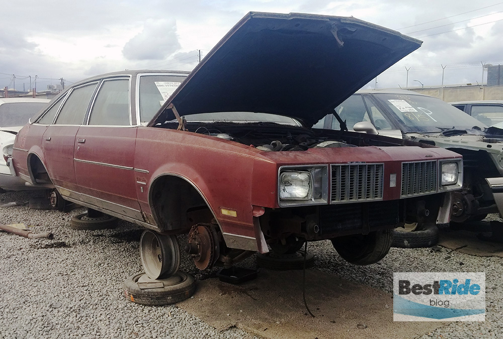 junkyard therapy 1985 buick skylark limited promising. Black Bedroom Furniture Sets. Home Design Ideas