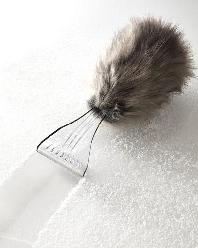 10 Worst Gifts - Mink Ice Scraper