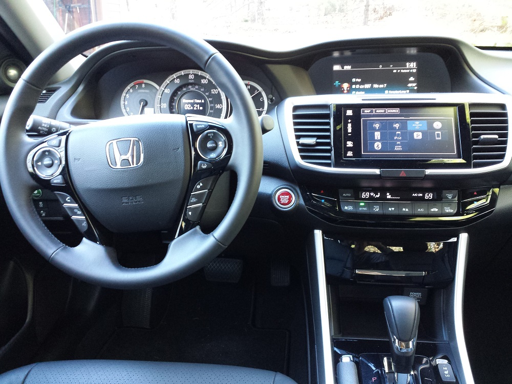 review 2016 honda accord ex l sedan with navi and honda sensing perfection at a near perfect. Black Bedroom Furniture Sets. Home Design Ideas