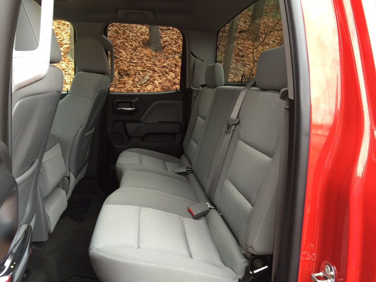 2015 Chevrolet Silverado Rear Seats