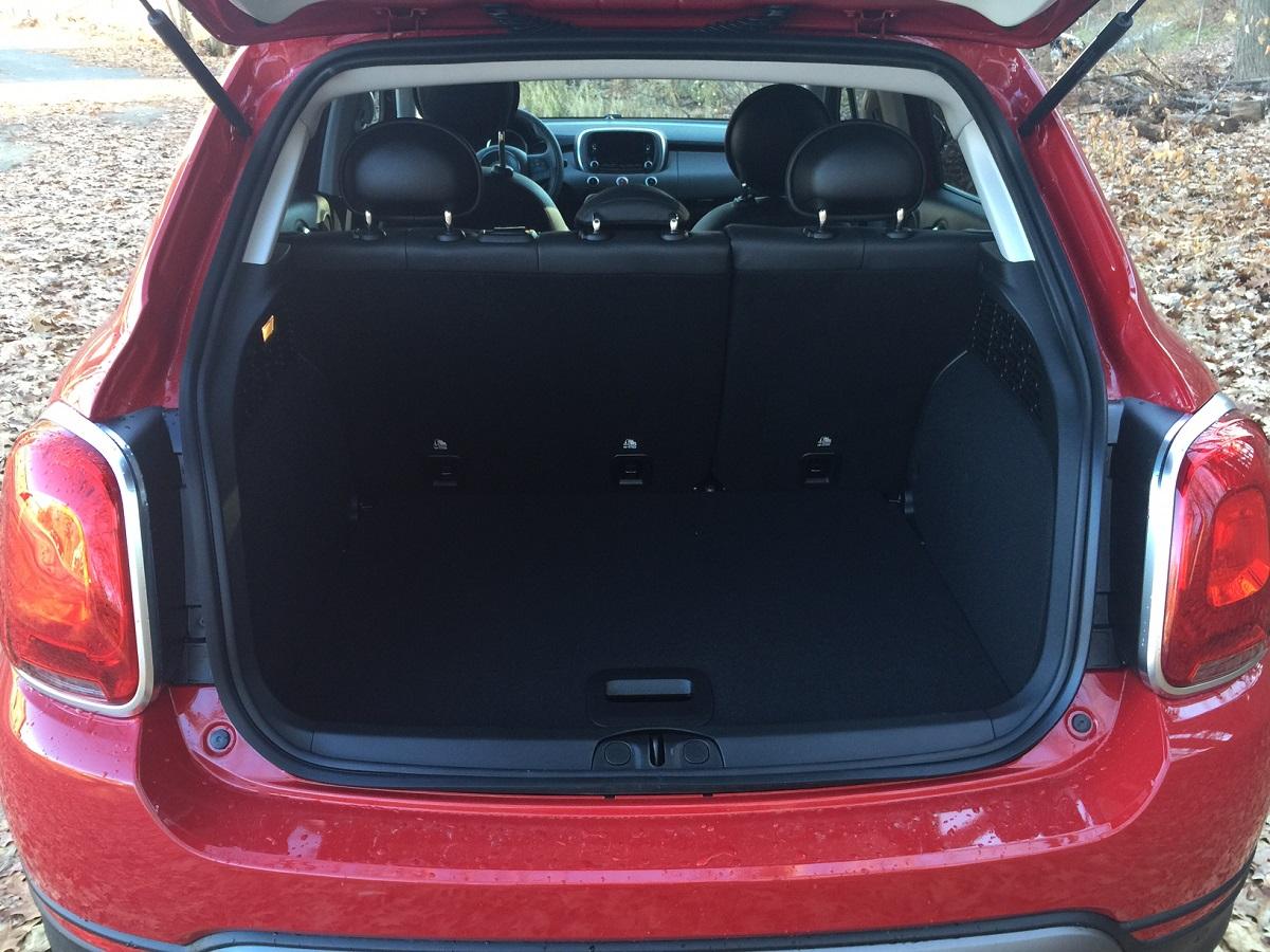 2016 Fiat 500X Cargo