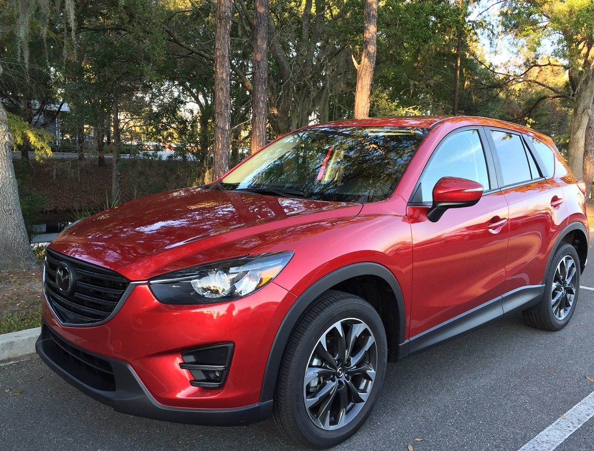 review 2016 mazda cx 5 grand touring is style with. Black Bedroom Furniture Sets. Home Design Ideas