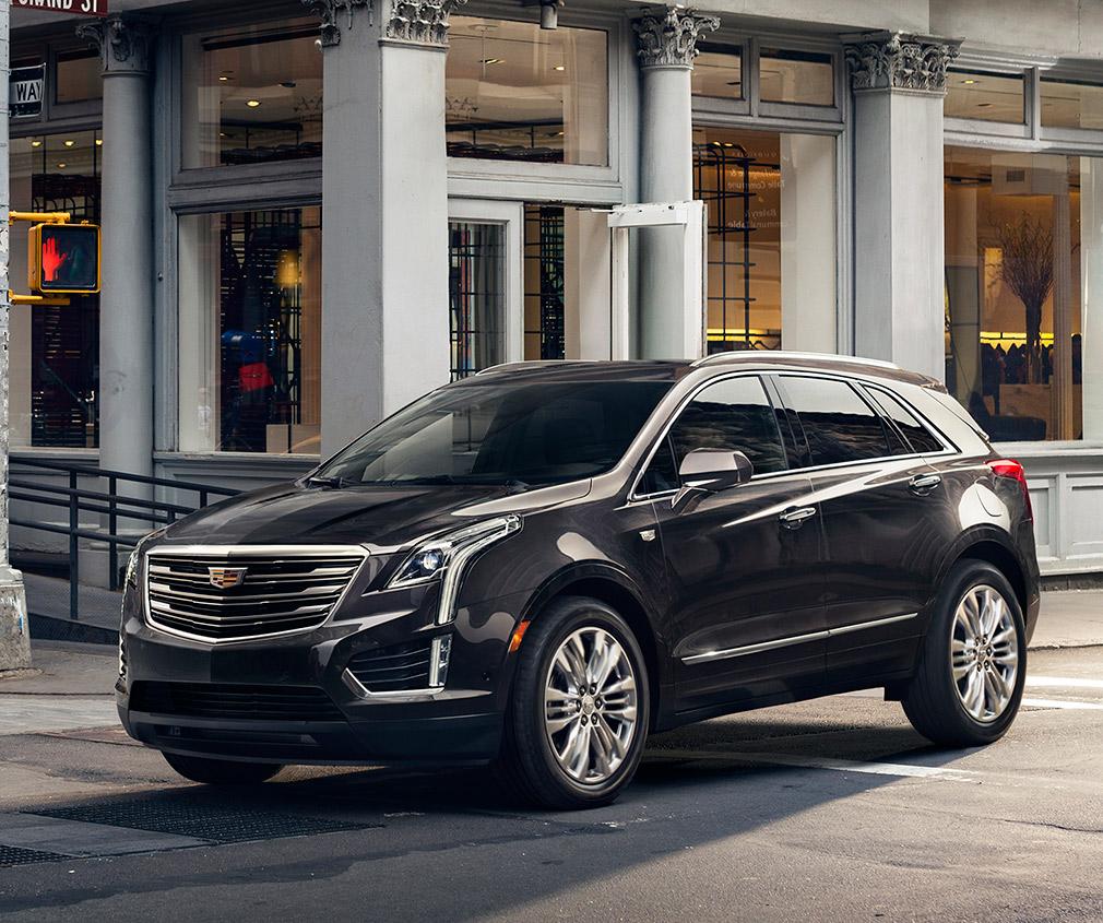 LA Auto Show: 2017 Cadillac XT5