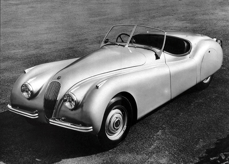 British Cars - jaguar XK120