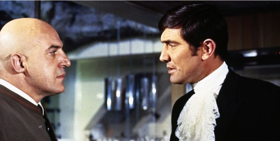 James Bond - George Lazenby Result