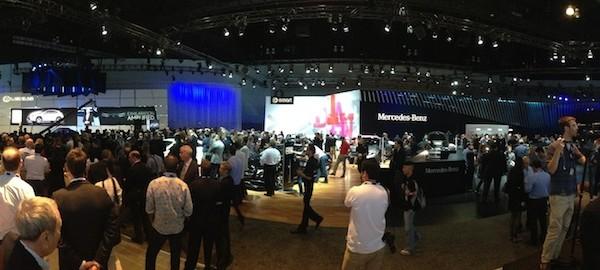 LA Auto Show - Crowd