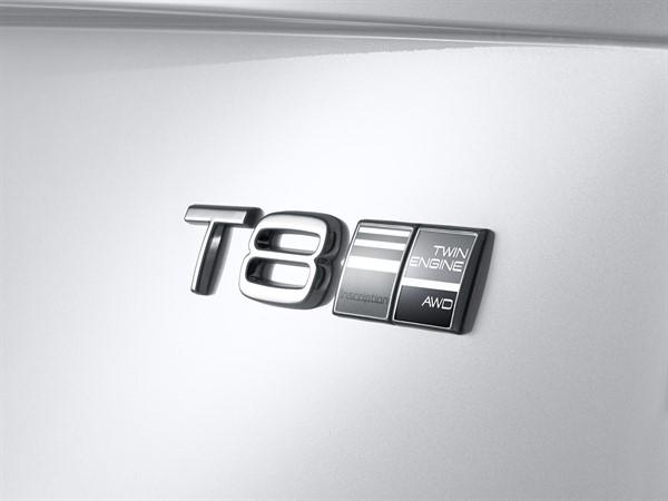 Volvo S90 T8 emblem