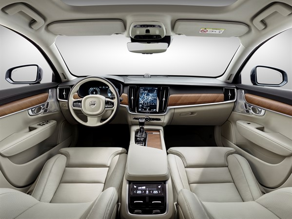 Volvo S90 Blond leather interior