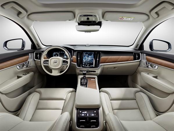 Volvo S90 Blond leather interior