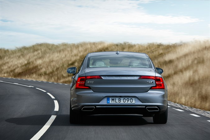 Volvo S90 Rear Shot