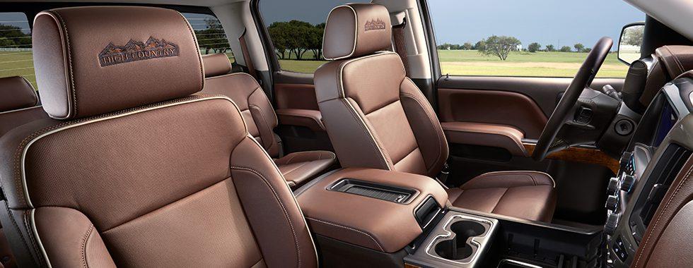 2016 Chevy Silverado High Country interior