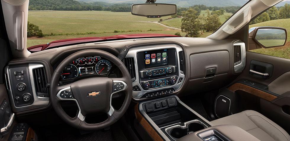 2016 Chevy Silverado interior front instruments