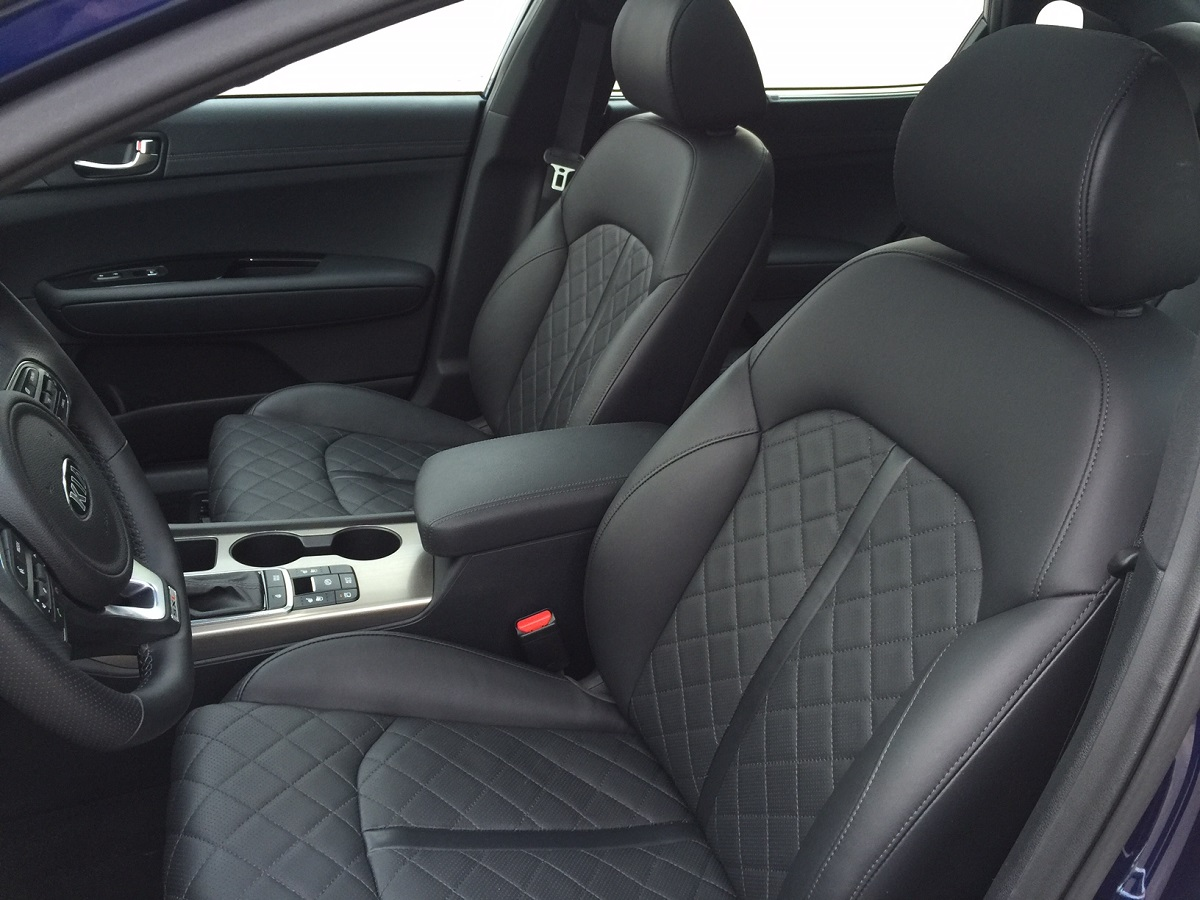 2016 Kia Optima Seating