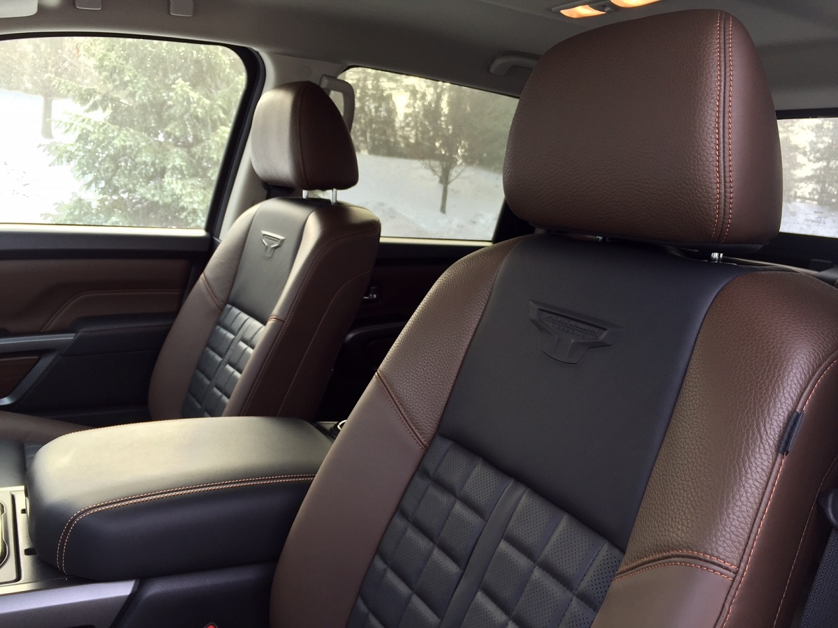2016 Nissan Titan XD Front Seats