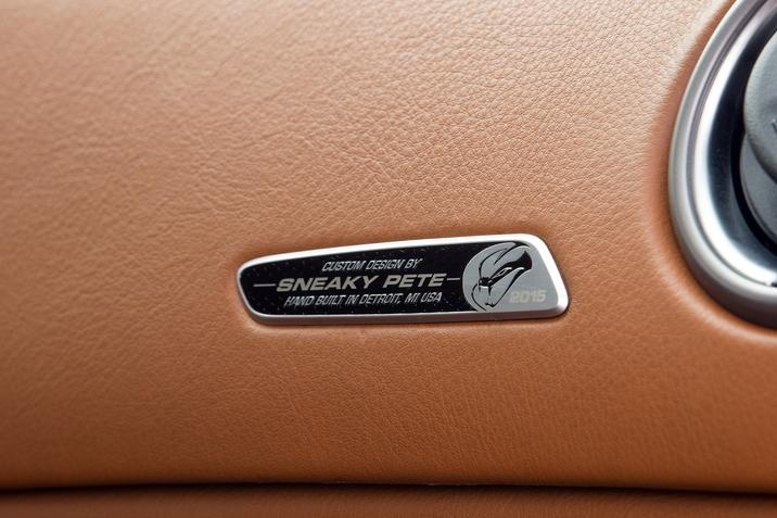 Dodge SRT Viper Dash Plaque