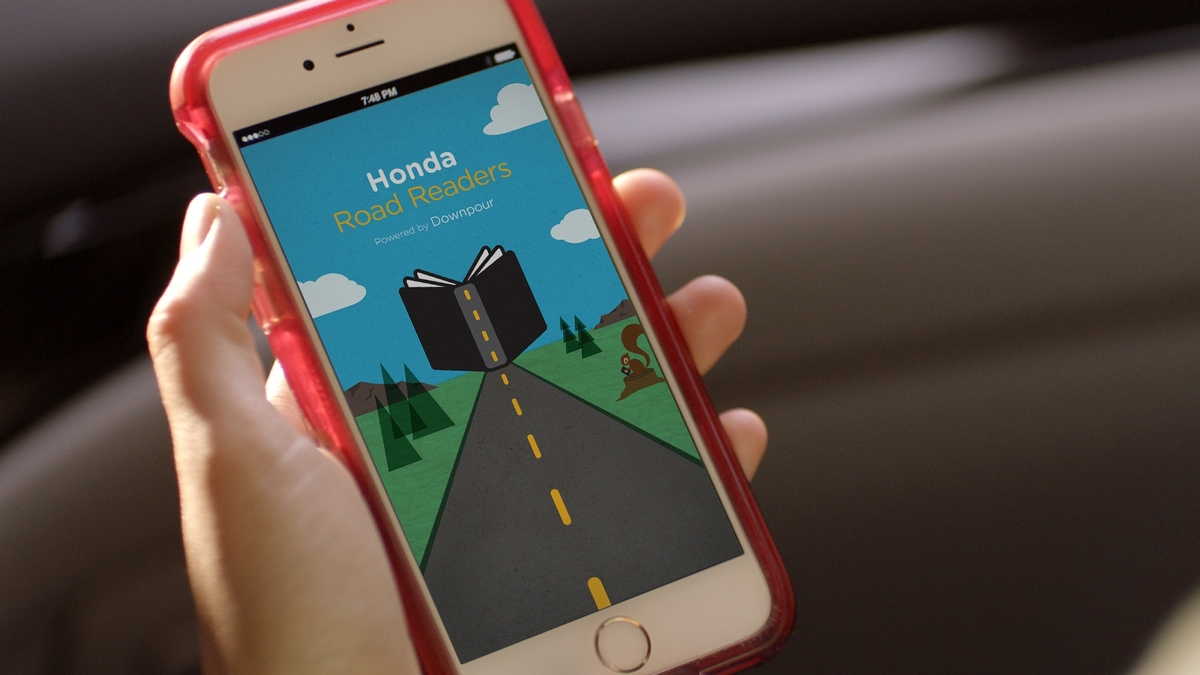 Honda Road Readers App Phone Press Photo