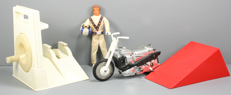 Toys - Evel Knievel Stunt Cycle