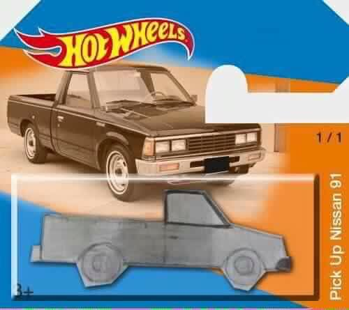 pickup drawing hot wheels