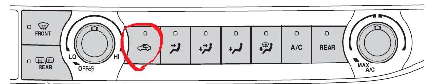 recirc button