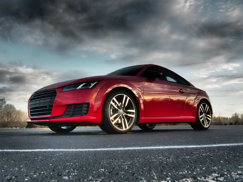 2016 Audi TT Coupe Photo Shoot 001
