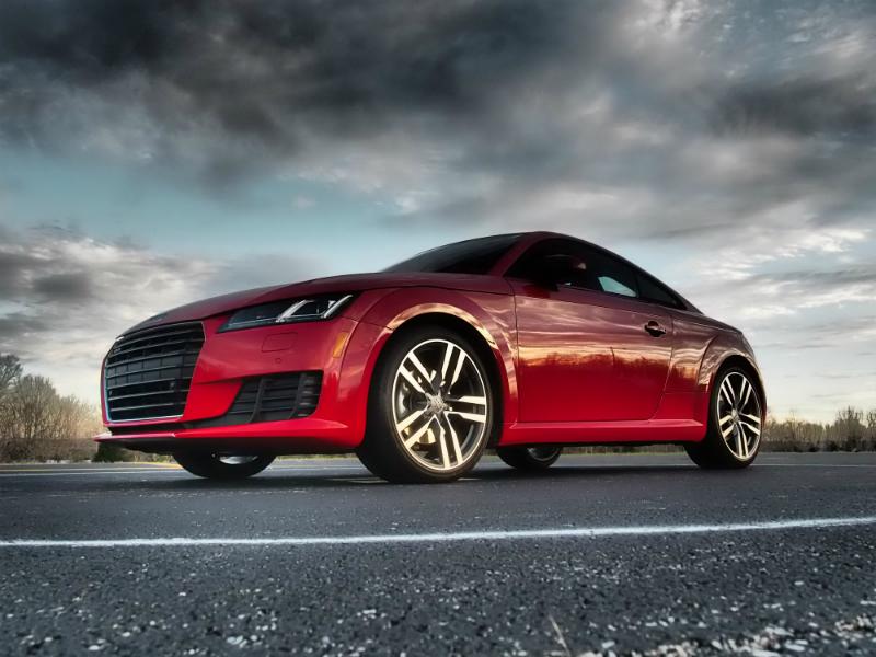 2016 Audi TT Coupe Photo Shoot 001