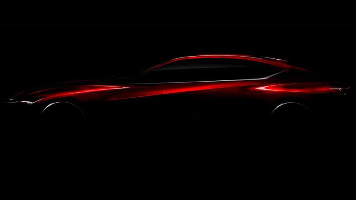 Detroit Show - Acura Precision