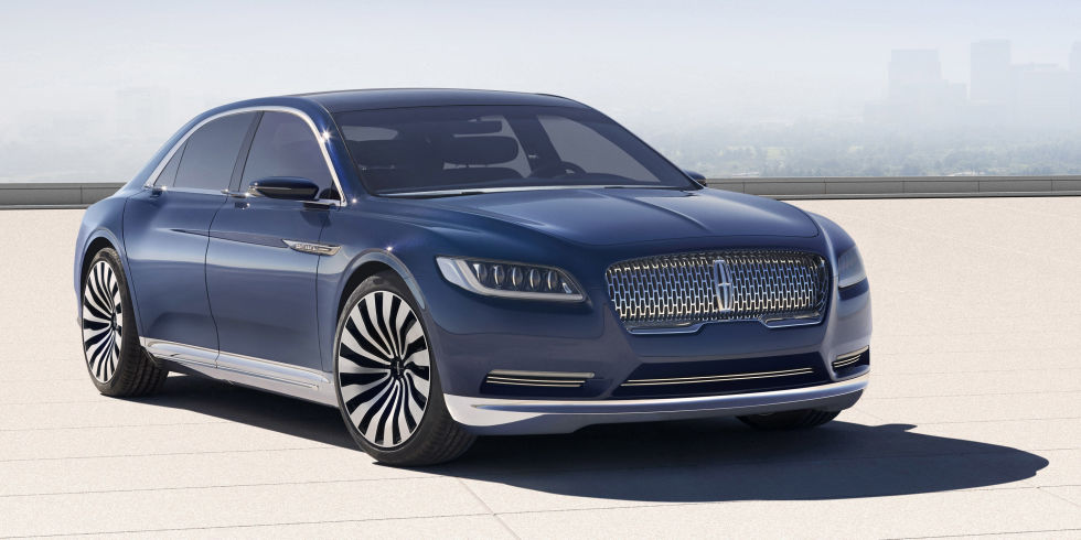 Detroit Show - Lincoln Continental