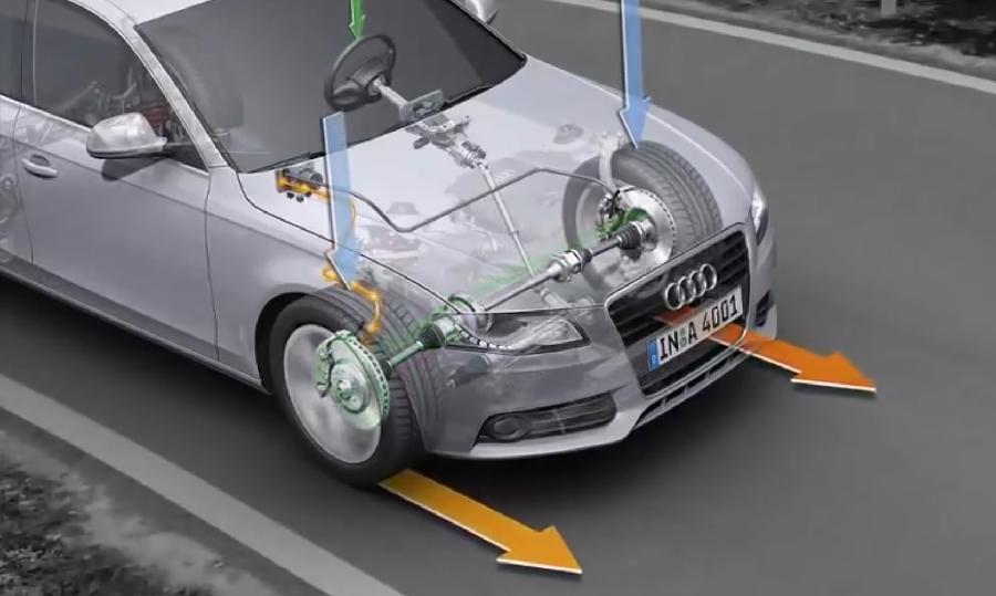 E-differential Audi video image