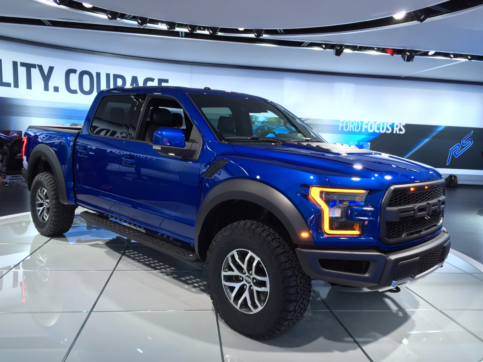 North American International Auto Show 2016: 2017 Ford Raptor ...