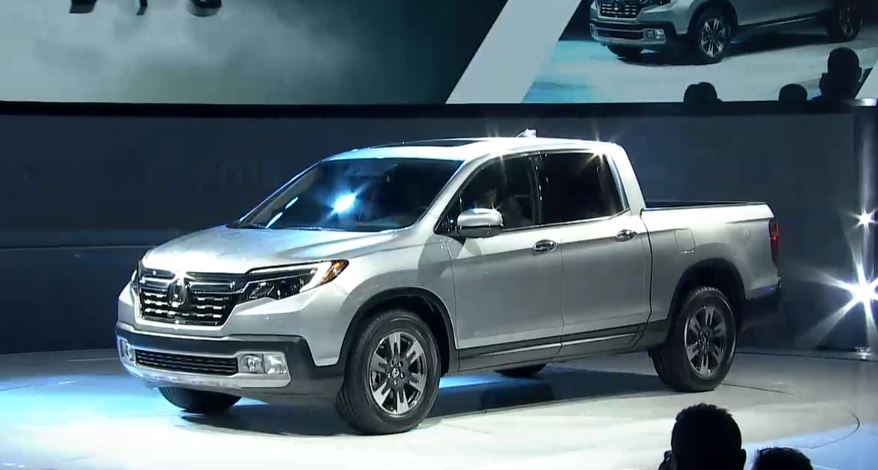 North American International Auto Show 2016 2017 Honda Ridgeline Bestride